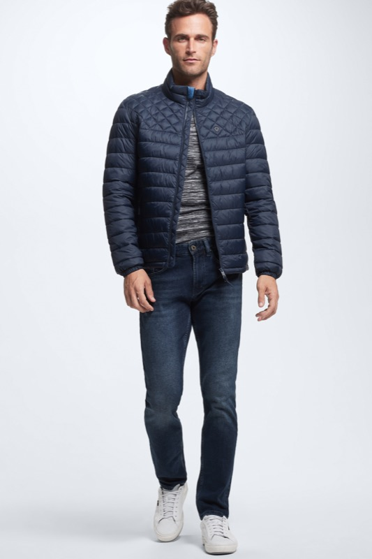 Steppjacke 4 Seasons, navy