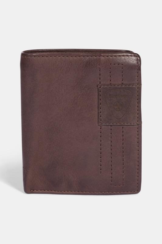 Geldbörse Upminster, dunkelbraun | Accessoires > Portemonnaies > Geldbörsen | Dunkelbraun | Strellson