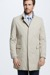 Manteau court Highgate, beige clair