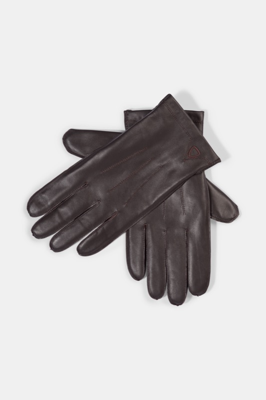 Lederhandschuhe, dunkelbraun | Accessoires > Handschuhe > Lederhandschuhe | Dunkelbraun | Strellson