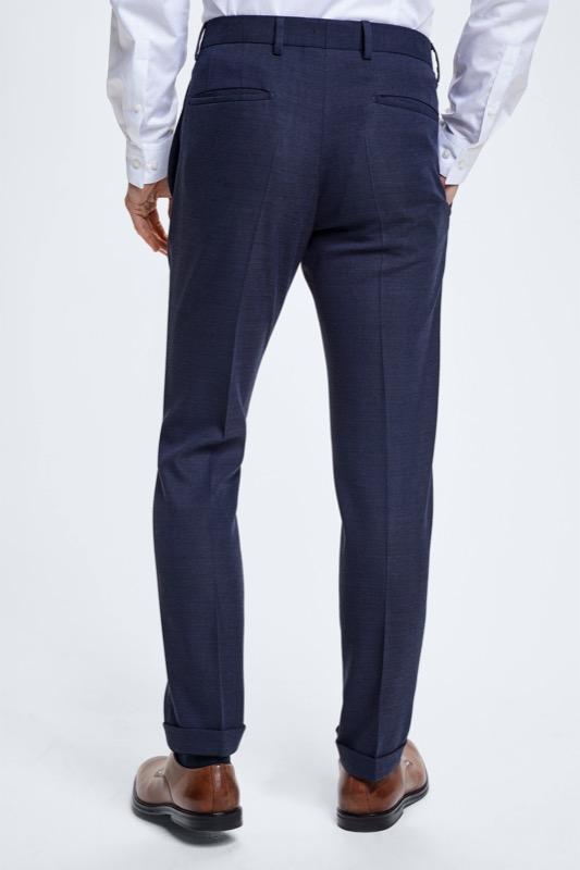 Pantalon Quinten, bleu foncé