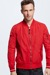 Collegejacke Oceanside, rot