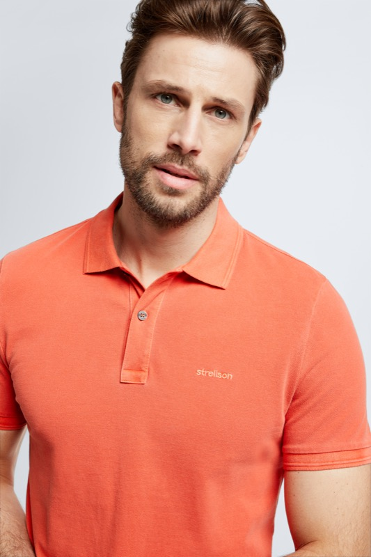 Polo-Shirt Phillip, orange