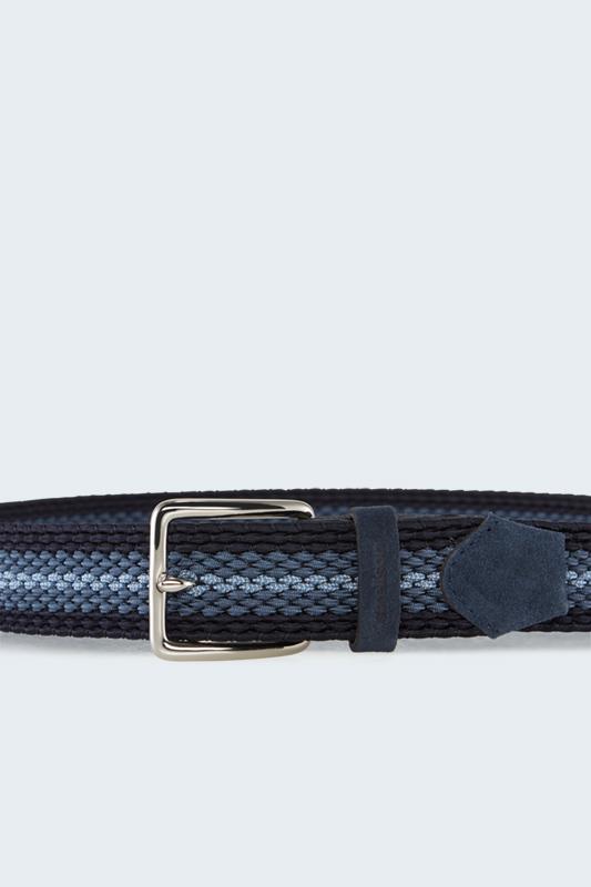 Flex Cross-riem, met blauw dessin