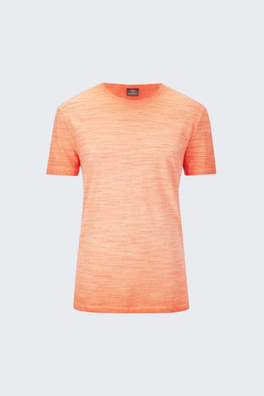 T-shirt Jake, orange chiné
