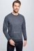 Sweatshirt S.C. Sanford- S.C. Collection, blau melange
