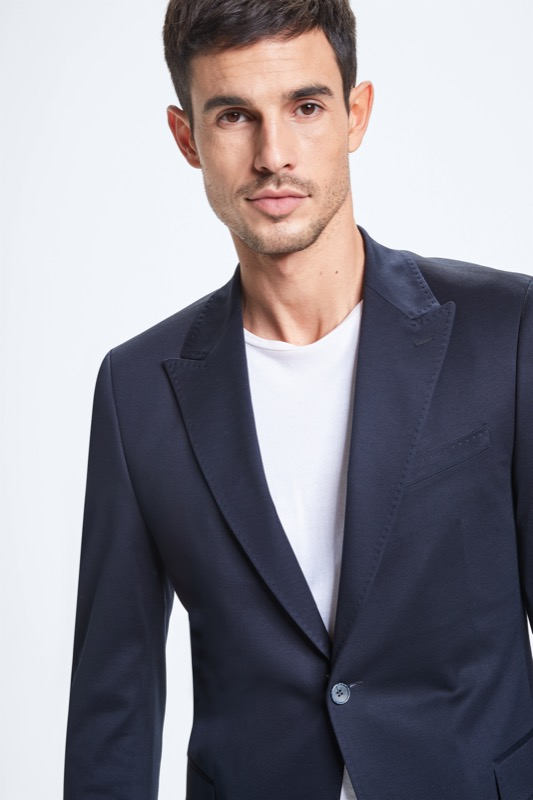 Veste de costume Ayres, bleu foncé