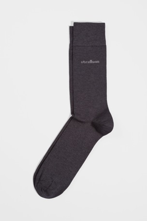 Business-Socken, anthrazit