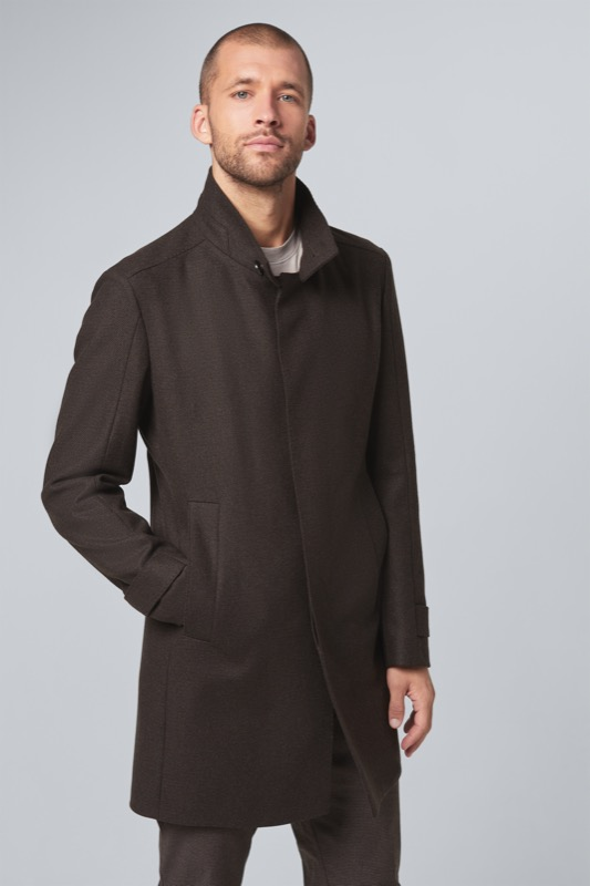 Manteau New Broadway, marron foncé