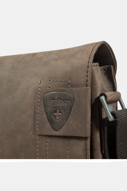 Messenger Bag Richmond, vintage-braun