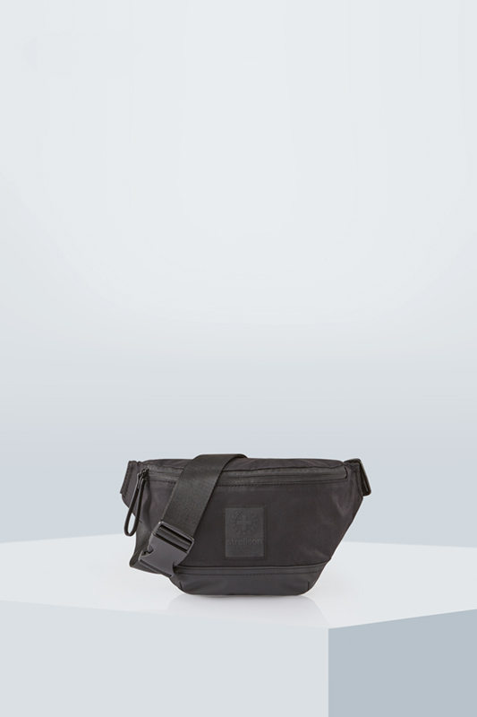 Sac ceinture Swiss Cross - S.C. Collection, noir