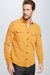 Chemise Rawson - S.C. Collection, jaune moutarde