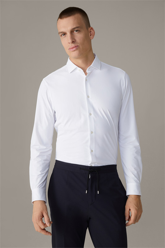 Chemise Flex Cross Stan, en blanc