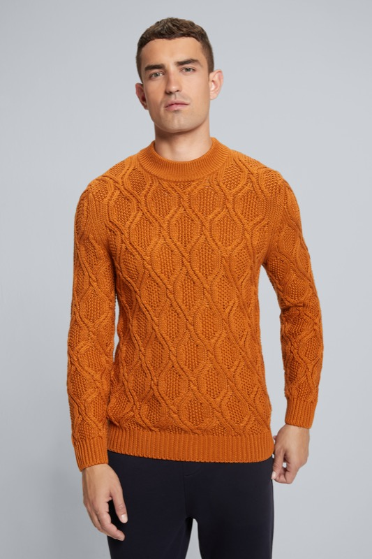 Strickpullover Adrian, orange