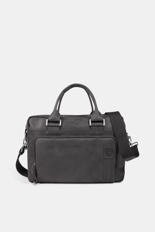 Briefcase Richmond, vintage-schwarz