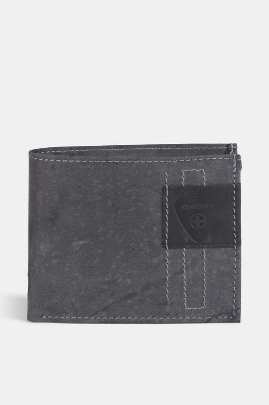 Geldbörse Richmond, vintage-schwarz | Accessoires > Portemonnaies | Vintage-schwarz | Leder | Strellson