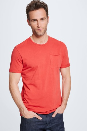 T-shirt Colin, rouge