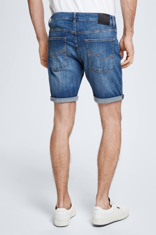 Short en denim Roby ? S.C. Collection, bleu moyen