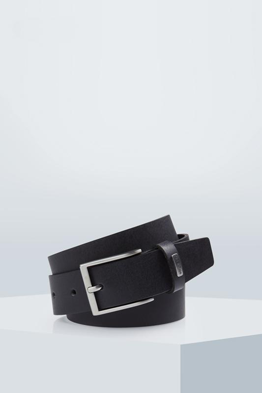 Ledergürtel, schwarz | Accessoires > Gürtel > Ledergürtel | Schwarz | Strellson
