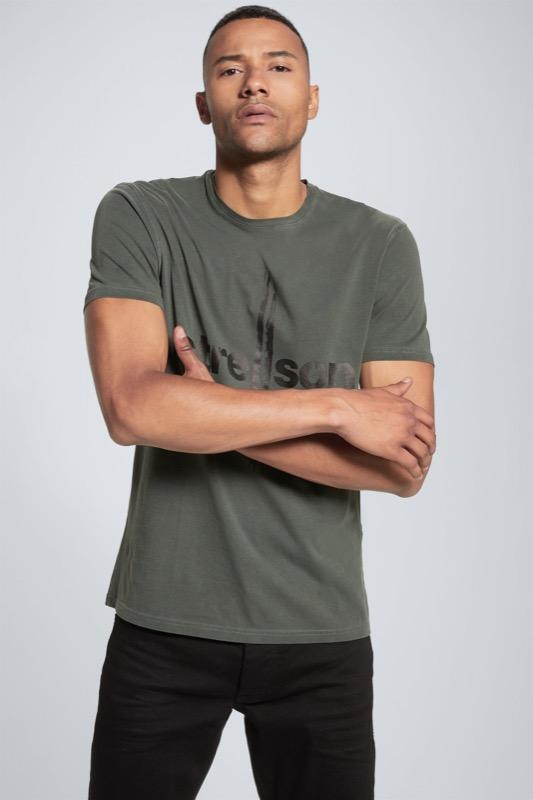 T-shirt Logan, vert olive