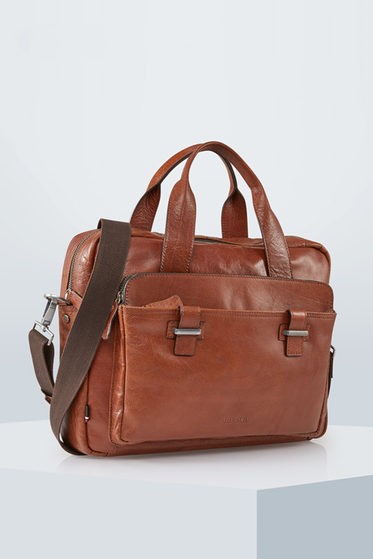 Briefbag Sutton, cognac