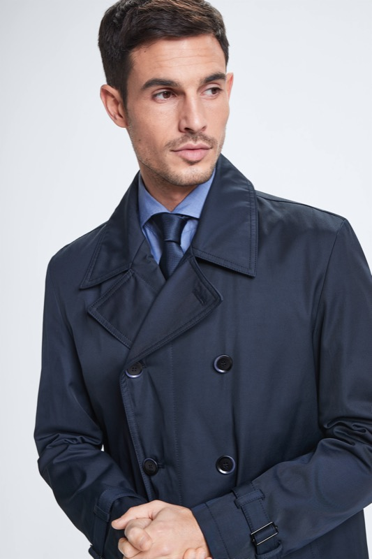 Mantel Genova, dunkelblau