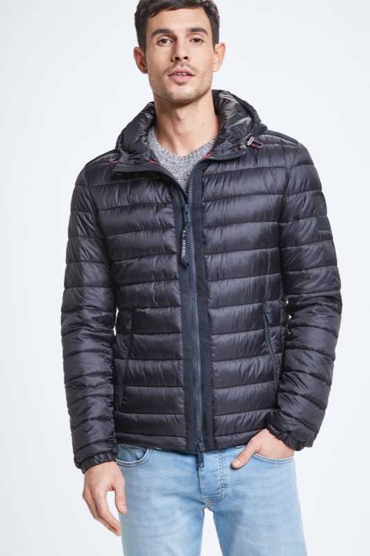 Steppjacke Modica - S.C. Collection, dunkelblau