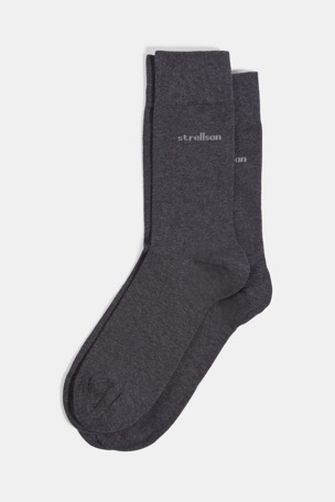 Chaussettes Soft Cotton, anthracite