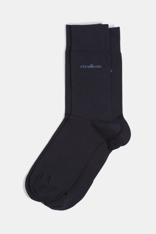 Soft Cotton Socken, navy