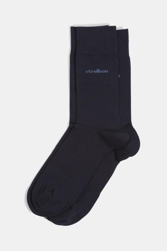 Soft Cotton Socken, navy | Bekleidung > Wäsche | Strellson