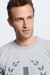 Sweatshirt Sanford - S.C. Collection, grau meliert