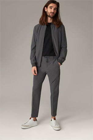 Flex Cross Split Suit Nola-Saturn, grau meliert