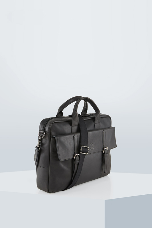 Briefbag Blackwall, schwarz