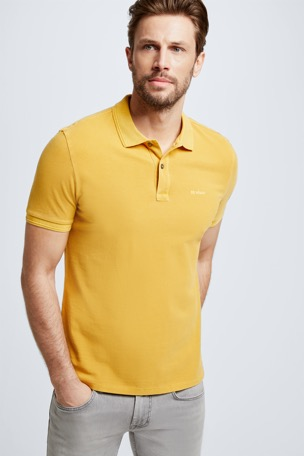 Polo-Shirt Phillip, gelb