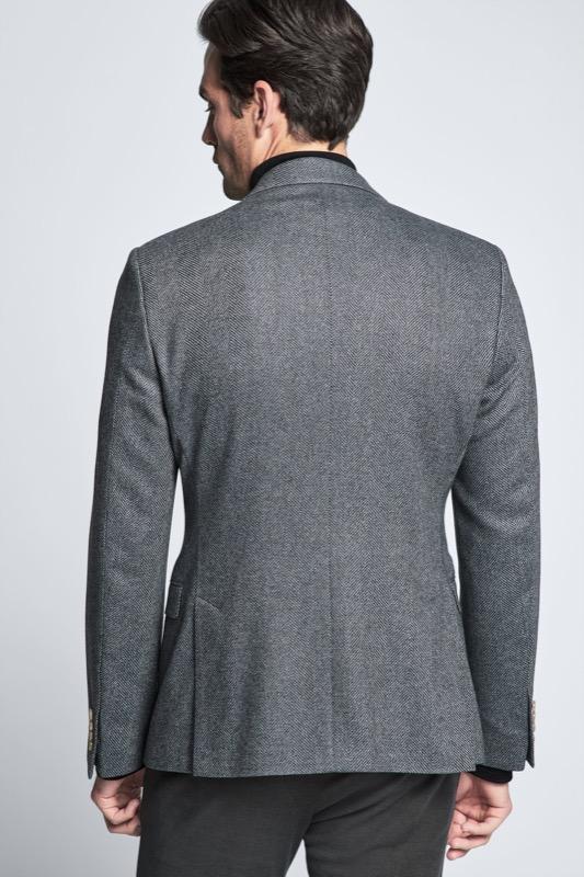 Veste de costume Aser, gris chiné