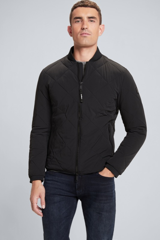 Flex Cross Steppjacke Bari, schwarz