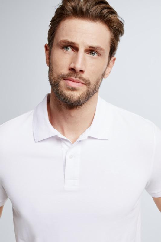 Polo-Shirt Petter, weiß