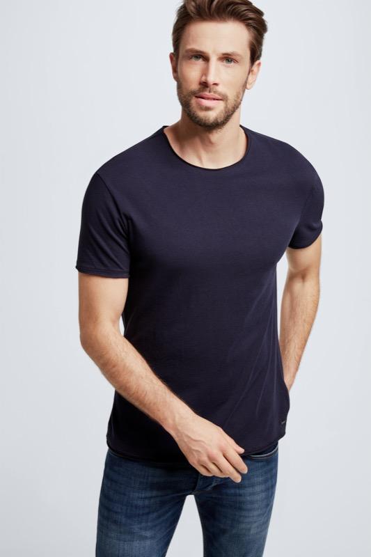 T-Shirt Tyler, dunkelblau