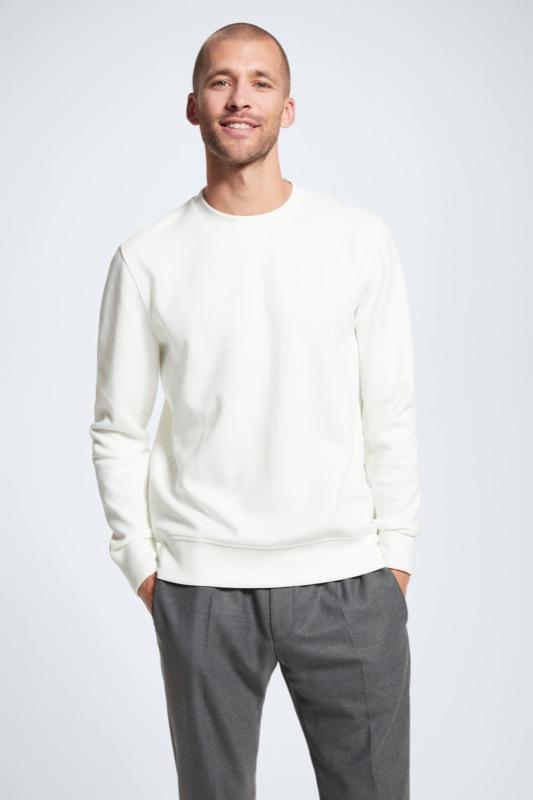 Sweatshirt Oscar, natural beige